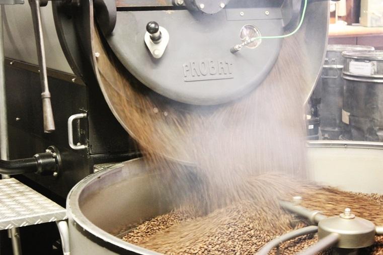 Probat Kaffeeröstmaschine von Mare Kaffee